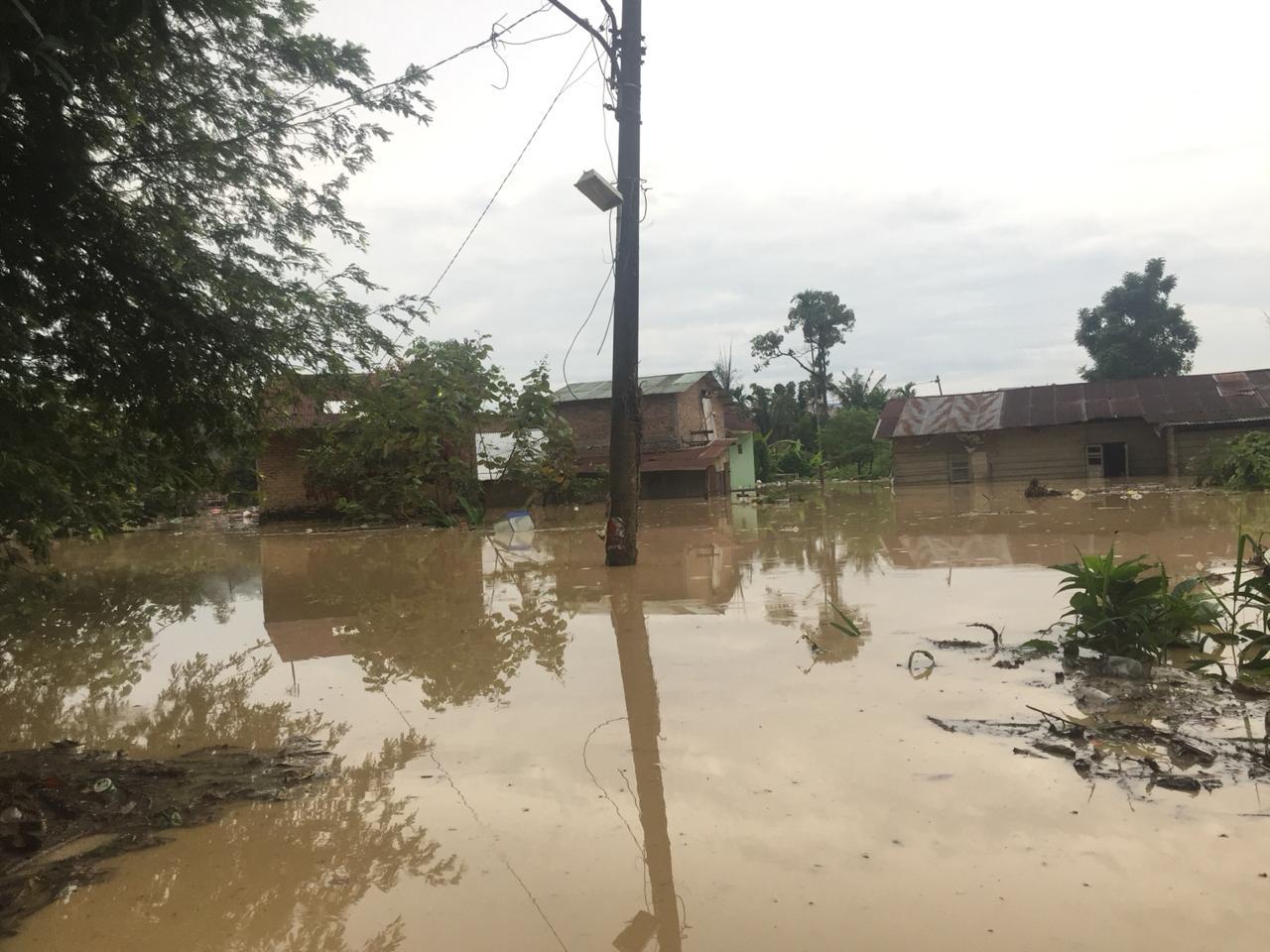 Ratusan Rumah Di Medan Selayang Terendam Banjir Geosiar Com