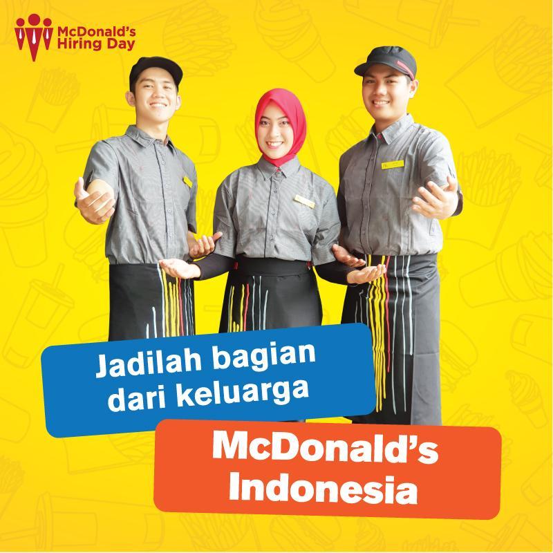Mcd Indonesia Cari Karyawan Berikut Informasinya Geosiar Com
